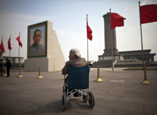 Čínské obyvatelstvo stárne