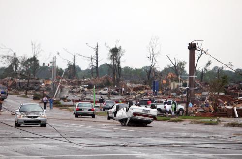 Následky silných bouřek