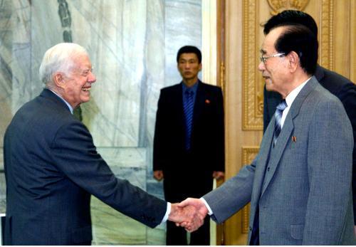 Jimmy Carter a Kim Jong-nam
