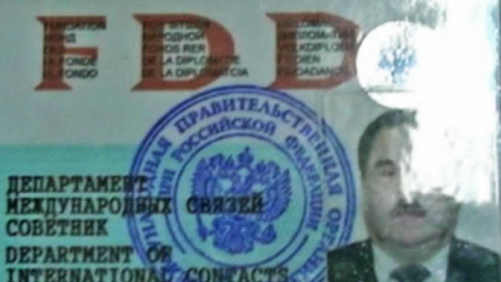 Padělané doklady falešných ruských detektivů