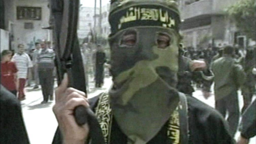 Radikální muslim z hnutí Hamas