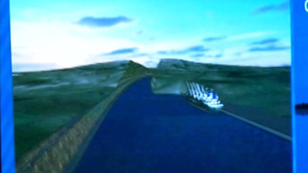 Projekt kanálu mezi Černým a Marmarským mořem