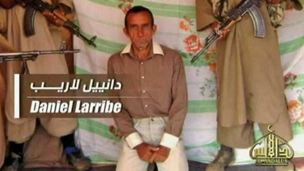 Unesený Daniel Larribe