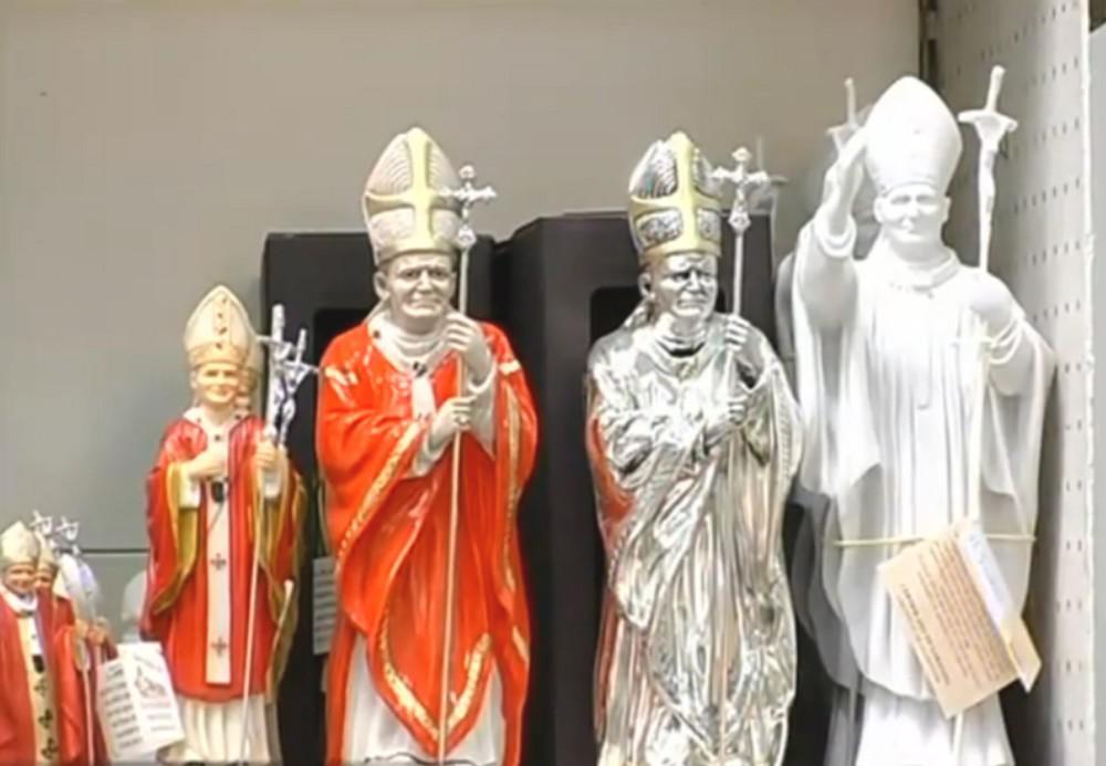 Suvenýry k beatifikaci Jana Pavla II.
