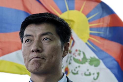 Nový tibetský premiér Lozang Sanggjä
