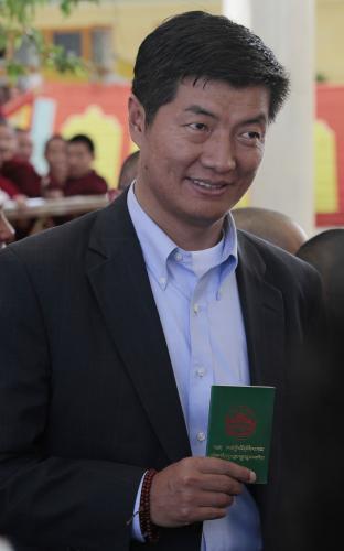 Tibetský premiér Lozang Sanggjä