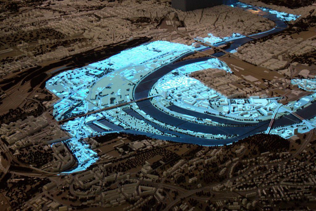 Model - Povodeň - stav 14. 8. 2002