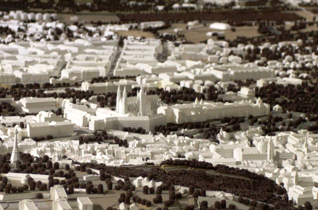 Model Pražského hradu