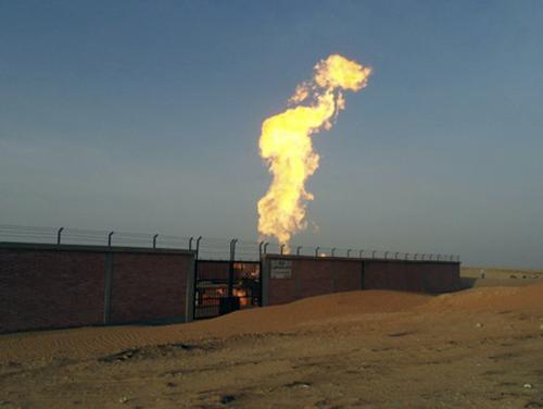 Výbuch egyptského plynovodu
