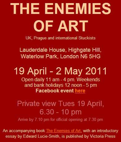 The Enemies of Art (Nepřátelé umění) - plakát