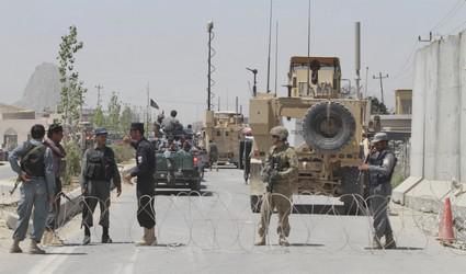 Bezpečnostní kontrola v Afghánistánu