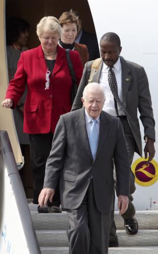 Jimmy Carter bude se skupinou bývalých politiků řešit jaderný program KLDR
