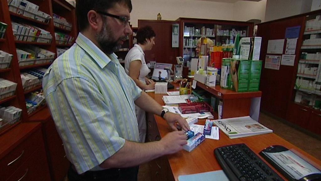 Prodej v lékárně