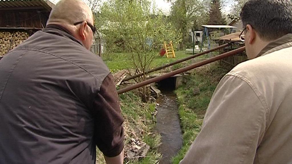 Kosový potok ve Velké Hleďsebi