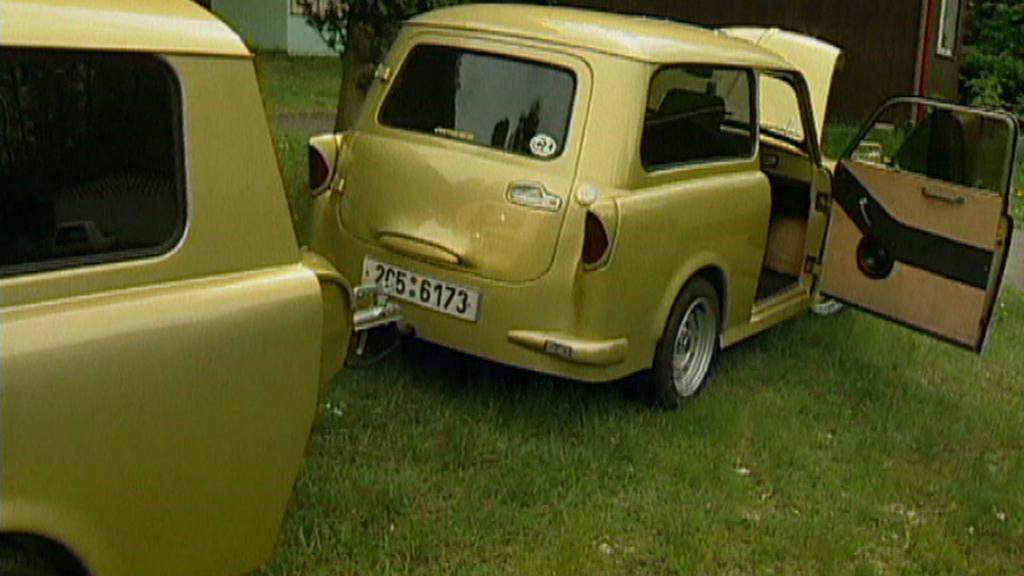 Vylepšený model Trabantu