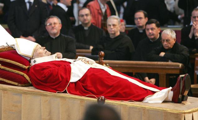 Poslední rozloučení s Janem Pavelm II.