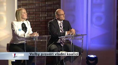 Jana Pařížková a Filip Dvořák