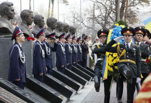 Vzpomínková slavnost v Černobylu