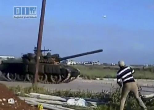 Nepokoje v syrském Dará
