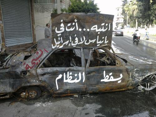 Nepokoje v Sýrie