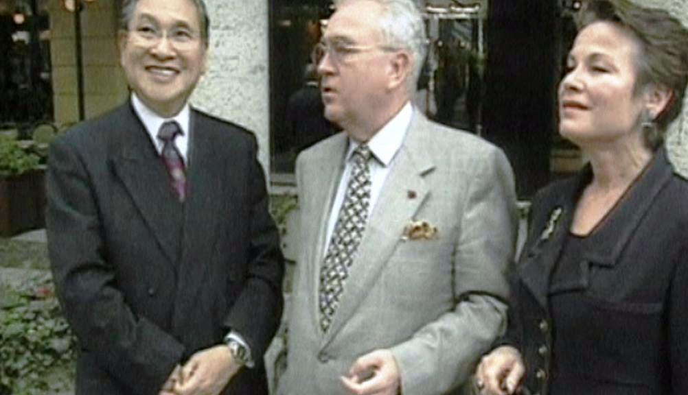 Norio Ohga s přáteli