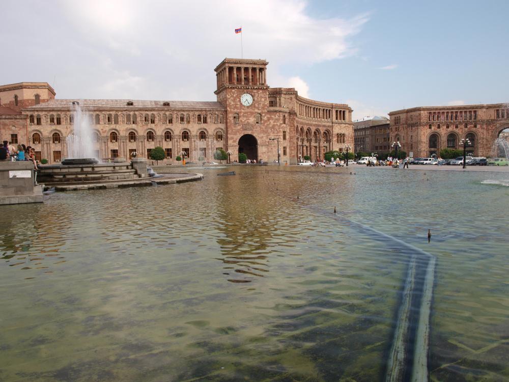 Náměstí Republiky v Jerevanu