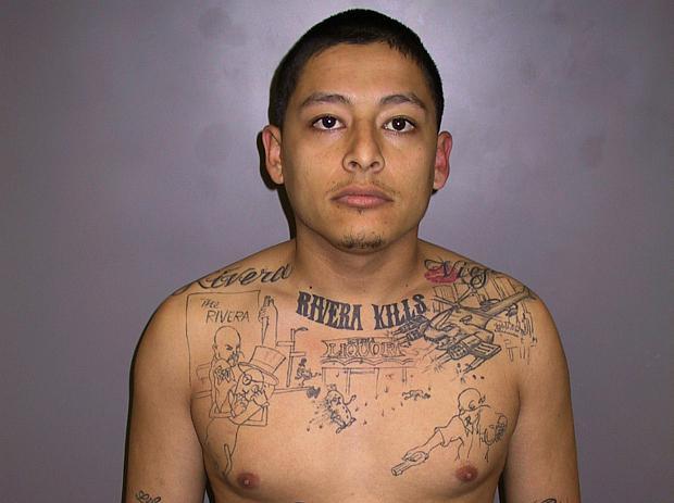 Tetování Anthonyho Garcii