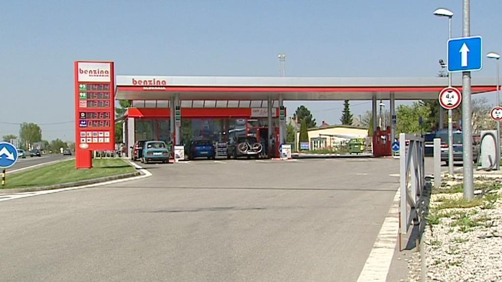 Čerpací stanice Benzina Slovakia