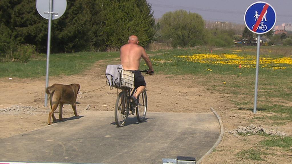Nedokončená cyklostezka