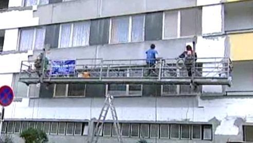 Zateplování panelového domu