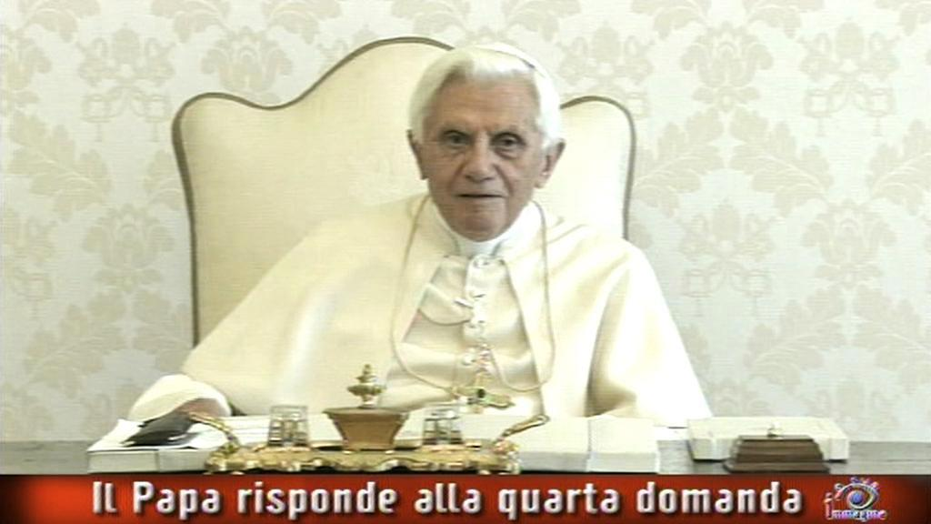 Rozhovor Benedikta XVI. pro Rai Uno