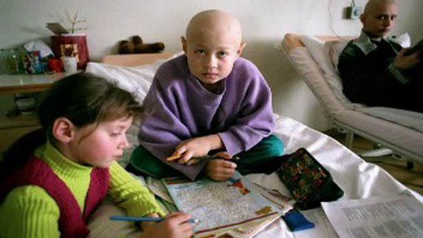 Děti z postižené oblasti