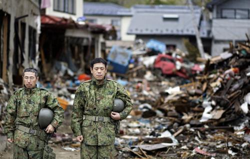 Japonsko měsíc po katastrofě