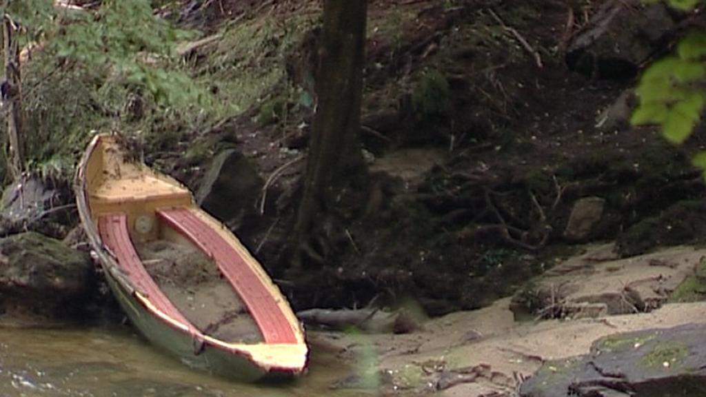 Hřensko po povodních