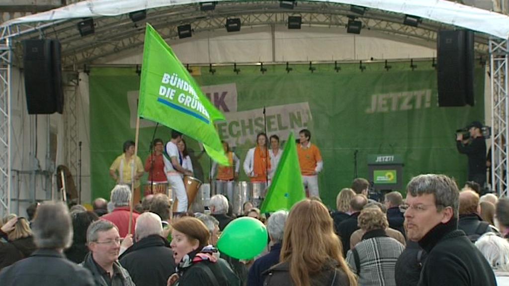 Přívrženci německých Zelených