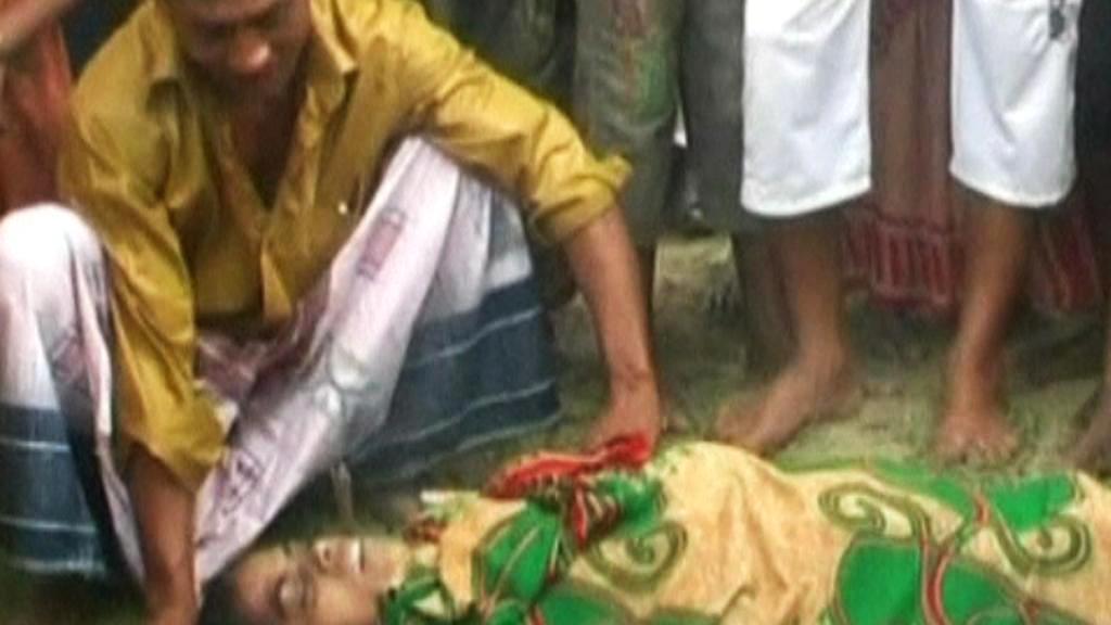 Oběť lodního neštěstí v Bangladéši