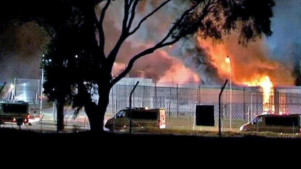 Požár azylového centra v Sydney