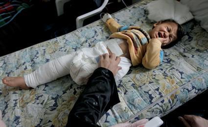 Oběti bojů v Libyi
