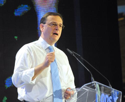 Petr Nečas zahajuje kampaň před podzimními volbami