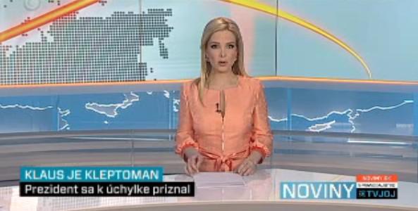 Noviny TV Joj s inkriminovaným příspěvkem