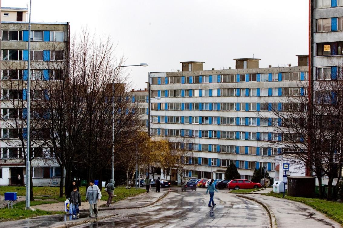 Litvínovské sídliště Janov