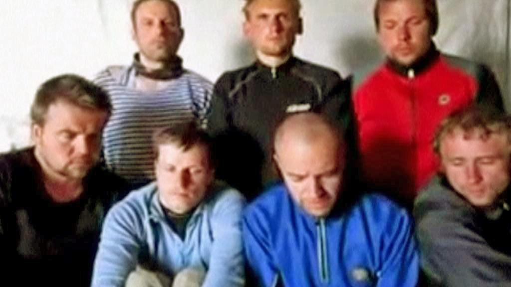 Video se sedmi Estonci unesenými v Libanonu