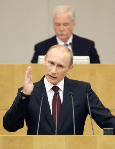 Vladimir Putin přednesl svou vizi budoucnosti Ruska
