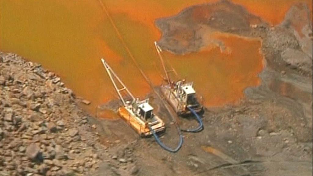 Poškozená australská příroda