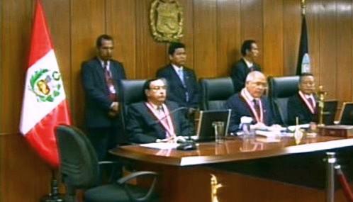Soud s Albertem Fujimorim
