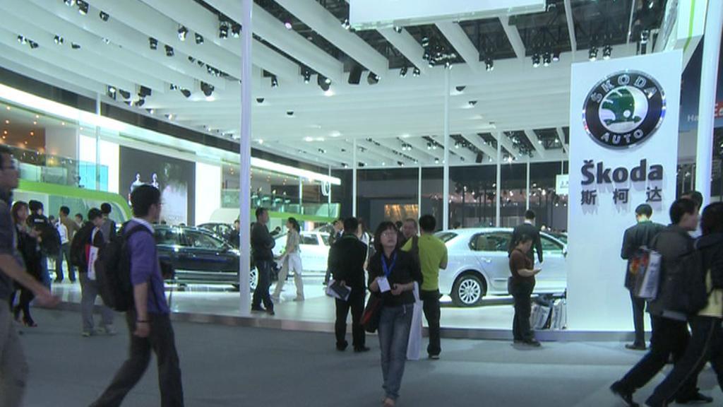 Škoda Auto v Šanghaji