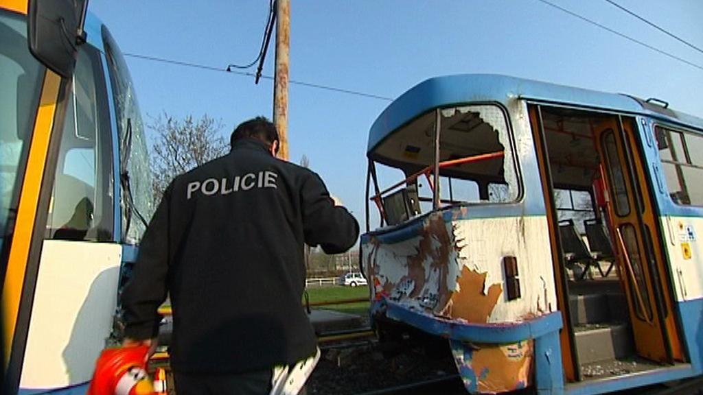 Policista u nehody