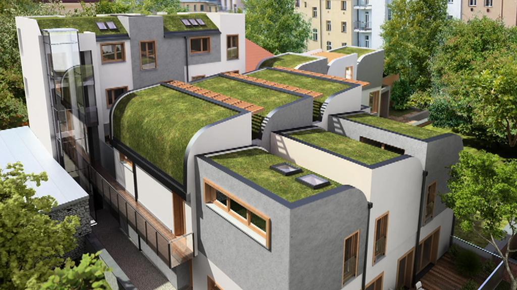 Nový komplex malometrážních bytů