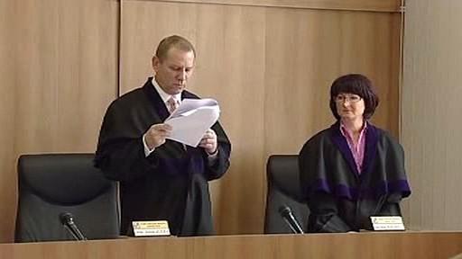 Čtení rozsudku