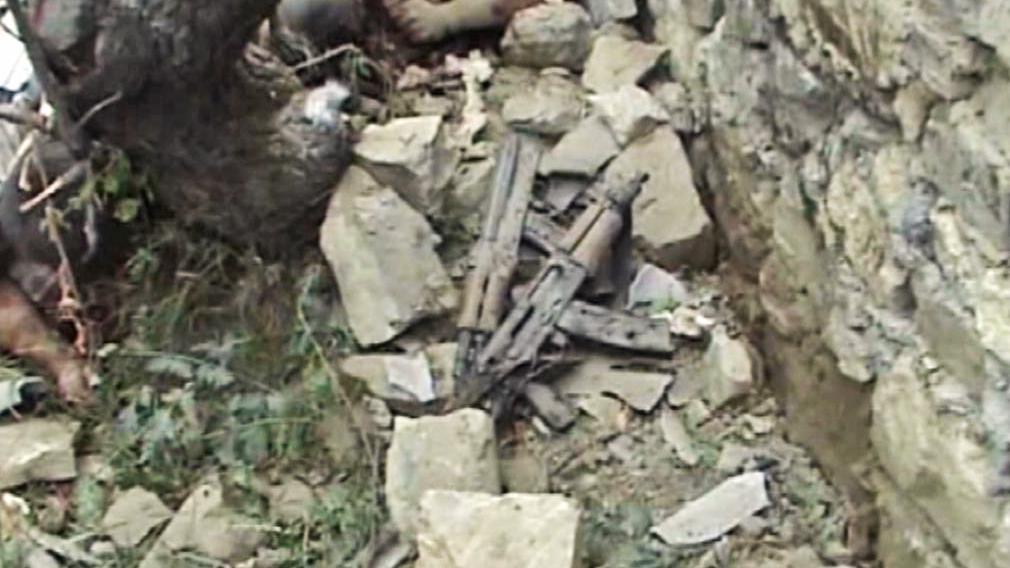 Nalezené zbraně kavkazských separatistů